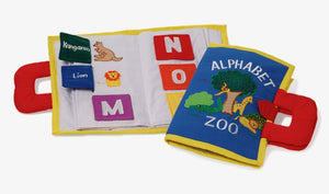 Oskar & Ellen Alphabet Zoo Soft Fabric Book - KeepEmQuiet