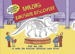 Magic Skeleton Book - Amazing Dinosaur Discovery