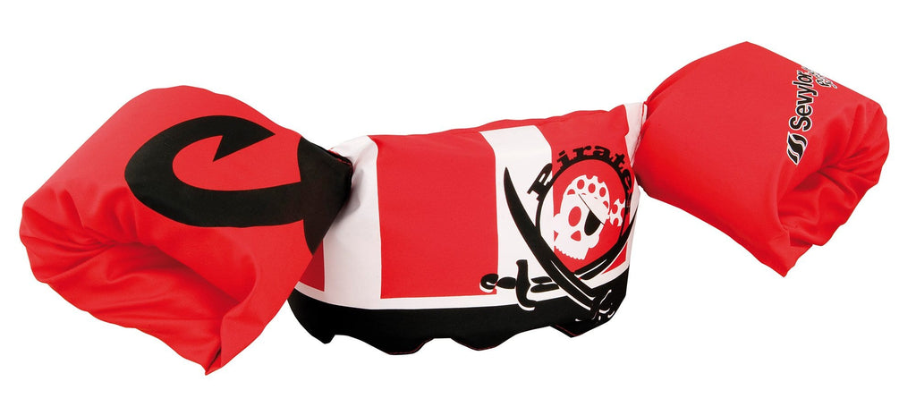 Puddle Jumper Deluxe 'Pirate' - The extra comfortable and safe swimming aid for toddlers! - KeepEmQuiet