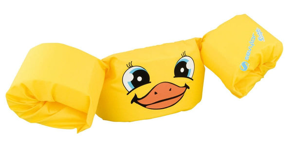 Puddle Jumper Deluxe 'Duck' - The extra comfortable and safe swimming aid for toddlers! - KeepEmQuiet