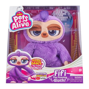 Pets Alive Fifi the Flossing Sloth By ZURU