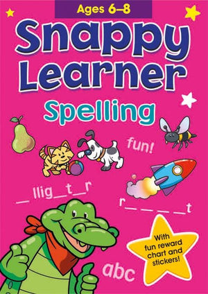 Educational Work Book - Spelling (Ages 6-8)