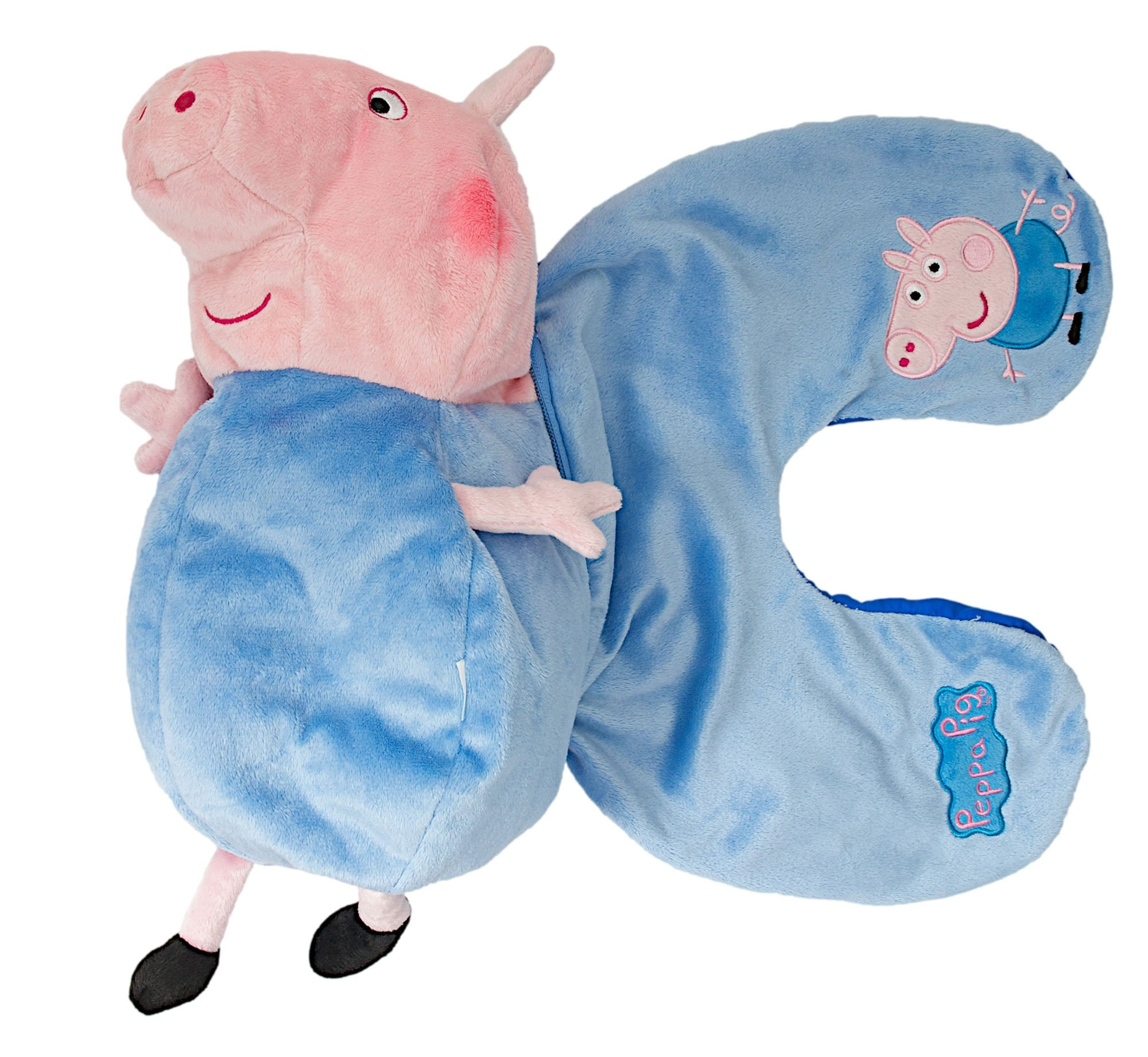Peppa Pig George travel pillow toy in
