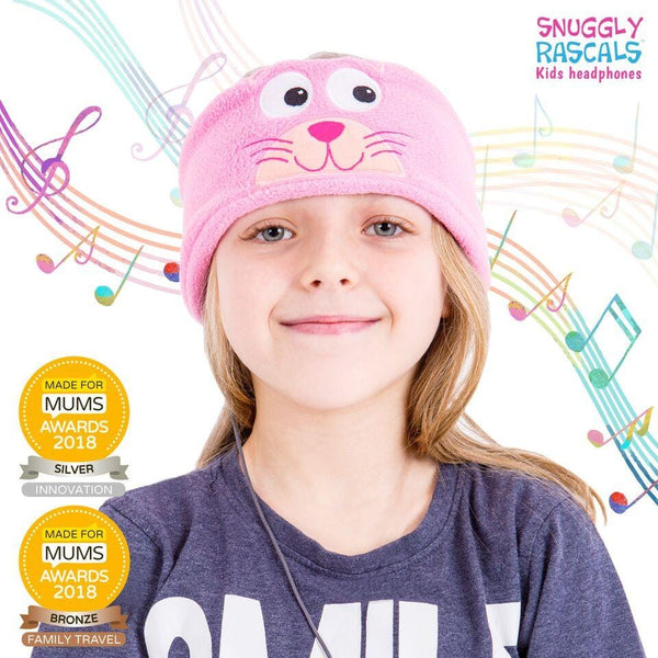 Snuggly Rascals - Ultra Comfortable Headphones - Kitten - KeepEmQuiet