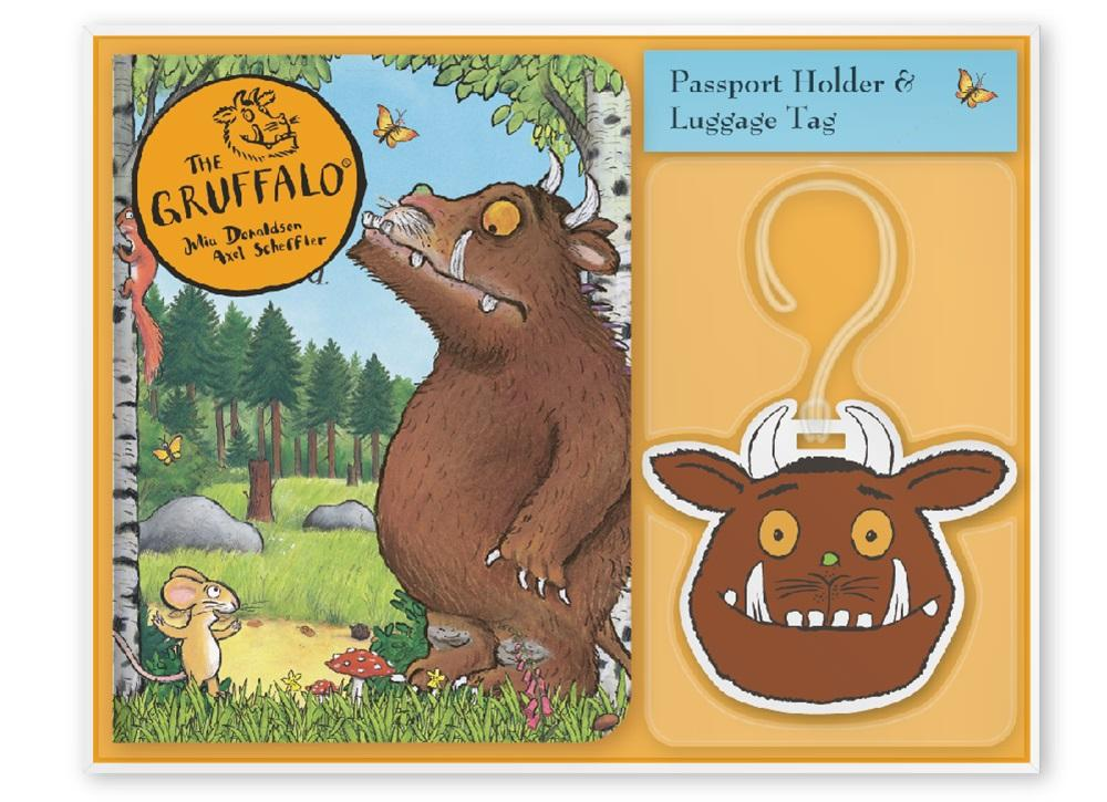The Gruffalo Passport Holder & Luggage Tag Set - KeepEmQuiet