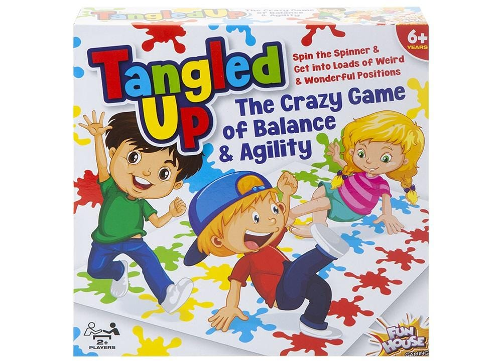 'Tangled Up' Family Game