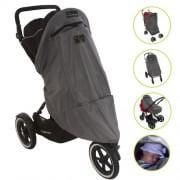 SnoozeShade 'Plus Deluxe' - The UV Blocking, Blackout Sunshade For Buggys & Prams - KeepEmQuiet