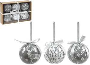 Delicate Grey Baubles