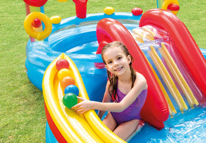 Rainbow Ring Water Play Centre Paddling Pool *preorder ships 15/4
