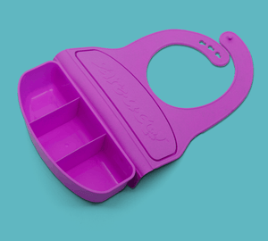 Dare-U-Go - The Bib & Food Container In One! - KeepEmQuiet