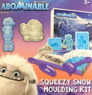 DreamWorks Abominable Squeezy Snow Moulding Kit