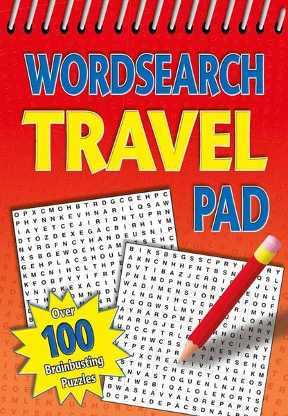 Adult Wordsearch Travel Pad