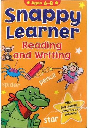 Educational Work Book - Reading & Writing (Ages 6-8)