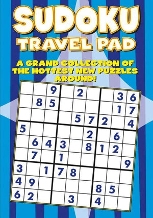 Adult Sudoku Travel Pad - KeepEmQuiet