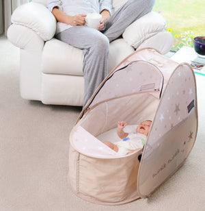 KOO-DI 'Sun & Sleep' Pop-Up Travel 0-6mths (Bassinette) - KeepEmQuiet