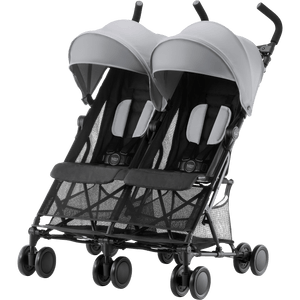 Britax Romer 'Holiday Double' Pushchair / Stroller - Steel Grey - KeepEmQuiet