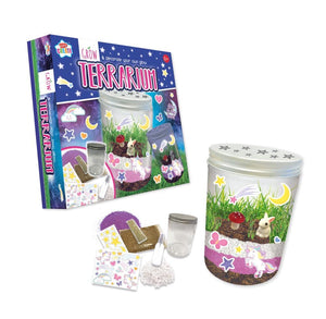 Grow & Decorate Your Own Glow Terrarium