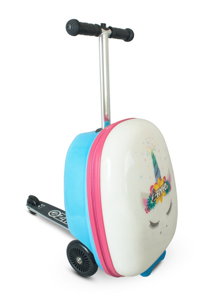 Zinc Flyte 'Suitcase Scooter' Chloe The Unicorn - KeepEmQuiet