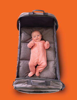 Bizzi Growin POD 2-in-1 Changing Bag & Travel Crib - KeepEmQuiet
