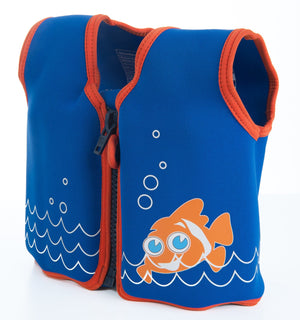 Konfidence Swim Jacket - Scoot The Clownfish - KeepEmQuiet