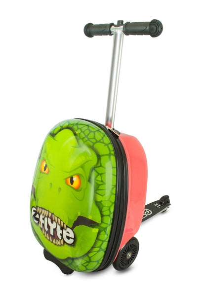 Zinc Flyte 'Suitcase Scooter' Darwin The Dinosaur - KeepEmQuiet