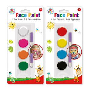 Set Of 4 Face Paints