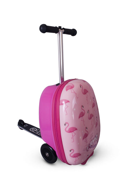 Zinc Flyte 'Suitcase Scooter' Fifi The Flamingo - KeepEmQuiet