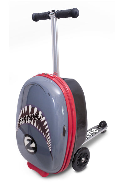 Zinc Flyte 'Suitcase Scooter' Snapper The Shark - KeepEmQuiet