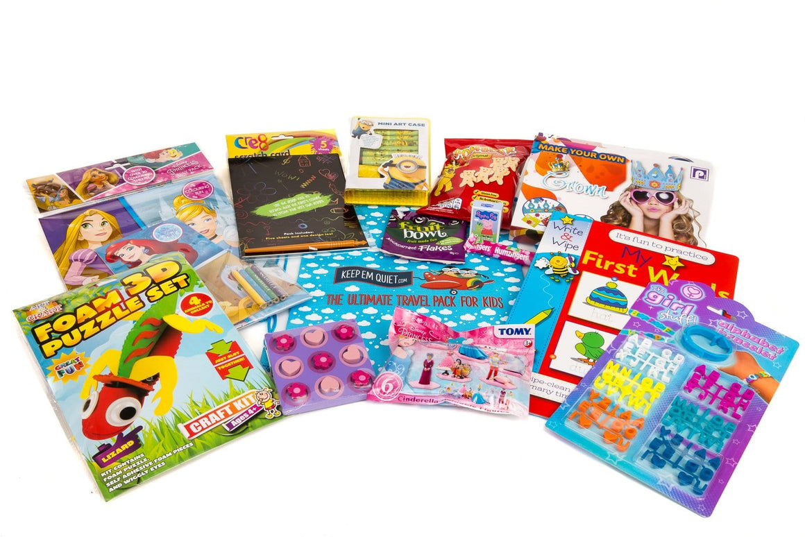 Long Trip: For Girls Age 3-5 Years - KeepEmQuiet