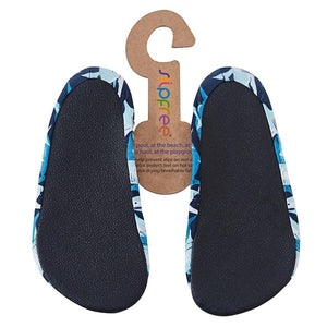 Slipfree® Sharks (Jack) - The Anti-Slip, Firm-Grip Soled Shoes (No slipping by the pool!) - KeepEmQuiet