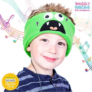 Snuggly Rascals - Ultra Comfortable Headphones - Monster - KeepEmQuiet