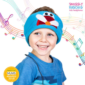 Snuggly Rascals - Ultra Comfortable Headphones - Plane - KeepEmQuiet