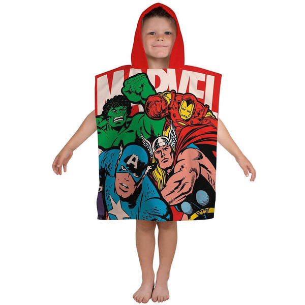 Marvel Comics Hooded Poncho Towel - KeepEmQuiet