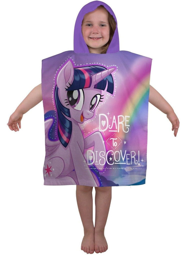 My Little Pony Hooded Poncho Towel - KeepEmQuiet
