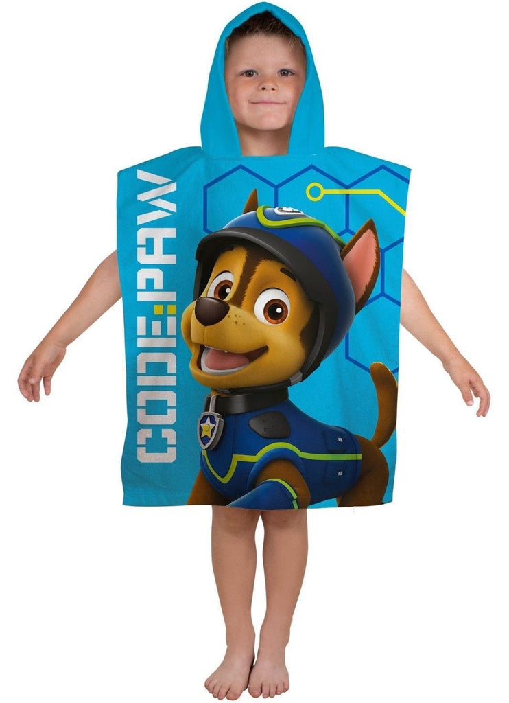 Paw Patrol Hooded Poncho Towel - KeepEmQuiet