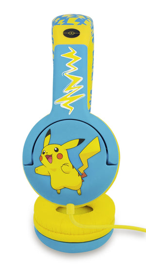 Pokemon (Pikachu) Kids Safe On Ear Headphones - KeepEmQuiet