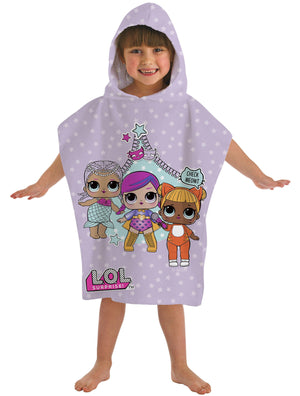 LOL Surprise Hooded Poncho Towel - KeepEmQuiet