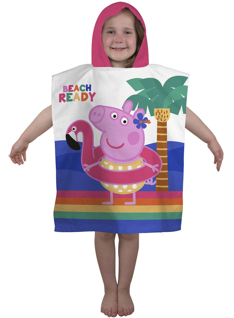 Peppa Pig Hooded Poncho Towel - KeepEmQuiet