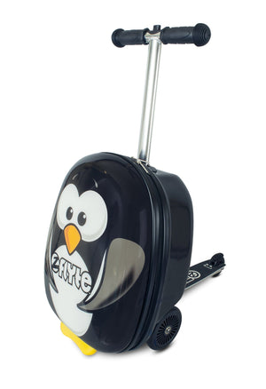 Zinc Flyte 'Suitcase Scooter' Percy The Penguin - KeepEmQuiet