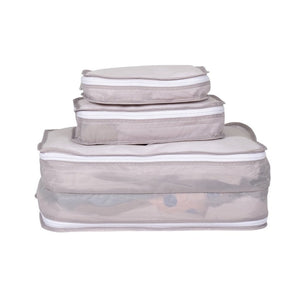 Packing Pals - Packing Cubes (6 pack - white) - KeepEmQuiet