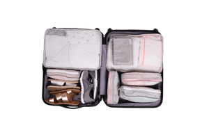 Packing Pals - Packing Cubes (3 pack - white) - KeepEmQuiet