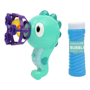 SunnyLife Seahorse Animal Bubble Machine