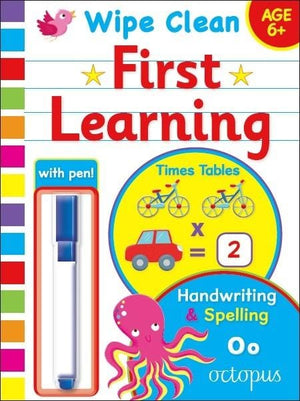 Early Learning Wipe Clean Educational Workbook 6+