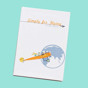 Simply For Flying - The Children's Flight Log Book - KeepEmQuiet