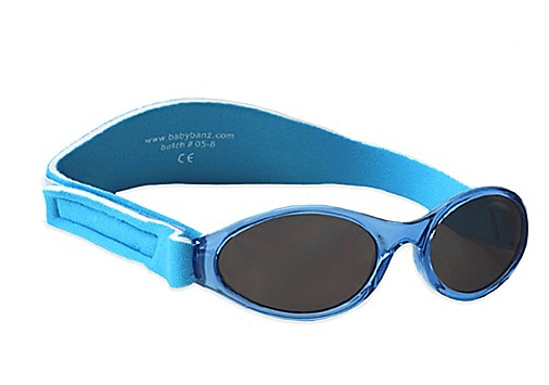 Baby Banz Sunglasses Lagoon Blue 0-2yrs - KeepEmQuiet