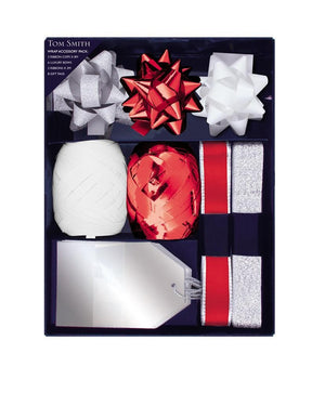 Wrapping Accessory Pack - Silver/Red/White