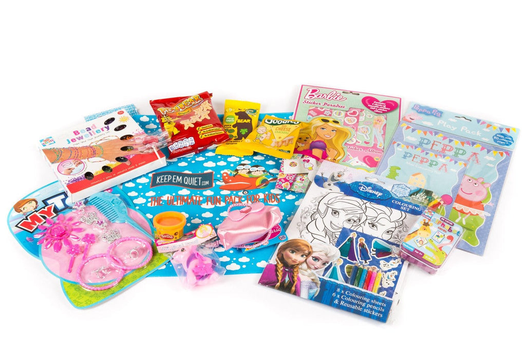 Return - Long Trip: For Girls Age 3-5 Years - KeepEmQuiet