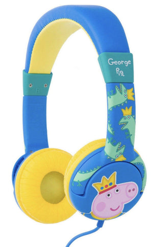 George Peppa Pig Kids Safe On Ear Headphones