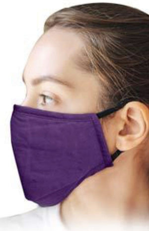 Adult & Teen Face Mask - Purple