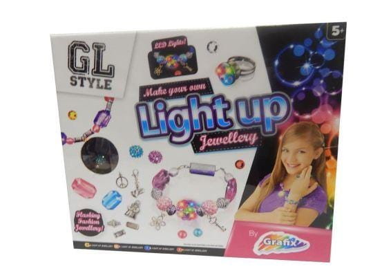 Create Your Own Light Up Jewellery Set